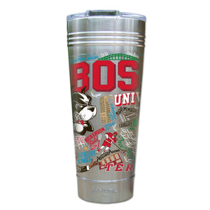 Boston University Collegiate Thermal Tumbler (Set of 4) - PREORDER Thermal Tumbler catstudio
