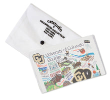 Load image into Gallery viewer, Boulder, University of Colorado Collegiate Dish Towel - catstudio