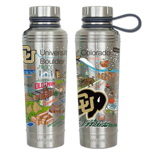 Boulder, University of Colorado Collegiate Thermal Bottle - catstudio