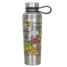 Load image into Gallery viewer, Boulder, University of Colorado Collegiate Thermal Bottle - catstudio
