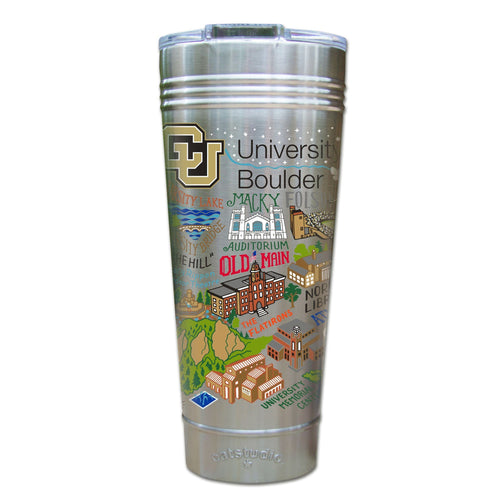 Boulder, University of Colorado Collegiate Thermal Tumbler (Set of 4) - PREORDER Thermal Tumbler catstudio