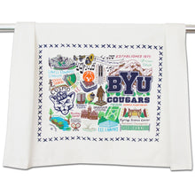 Load image into Gallery viewer, Brigham Young University (BYU) Collegiate Dish Towel - catstudio