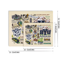 Load image into Gallery viewer, Brigham Young University (BYU) Collegiate Fine Art Print Art Print catstudio
