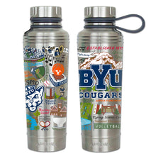 Load image into Gallery viewer, Brigham Young University Collegiate Thermal Bottle - catstudio
