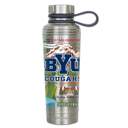 Brigham Young University Collegiate Thermal Bottle - catstudio
