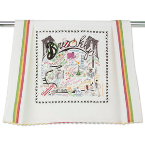 Brooklyn Dish Towel - catstudio