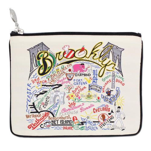 Brooklyn Zip Pouch - Natural - catstudio