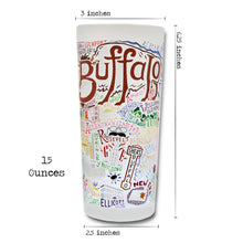 Load image into Gallery viewer, Buffalo Drinking Glass - catstudio
