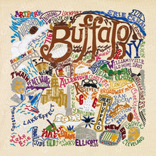 Load image into Gallery viewer, Buffalo Fine Art Print - catstudio