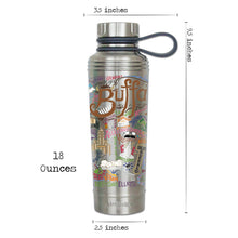 Load image into Gallery viewer, Buffalo Thermal Bottle - catstudio