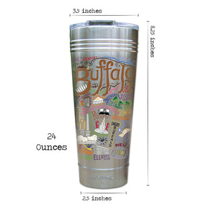 Buffalo Thermal Tumbler (Set of 4) - PREORDER Thermal Tumbler catstudio
