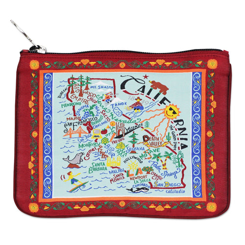 California Zip Pouch - Pattern - catstudio