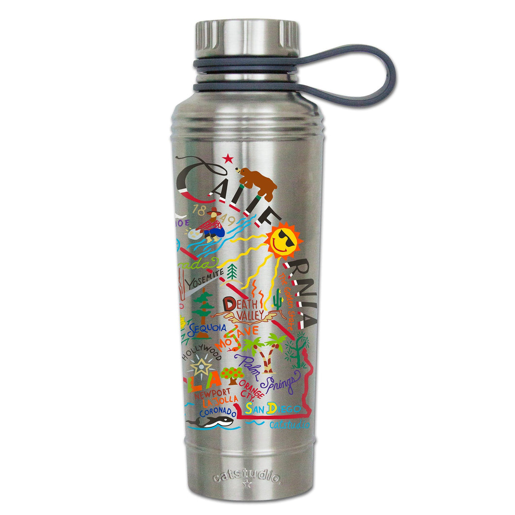 California Thermal Bottle - catstudio