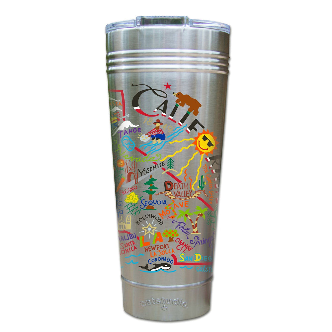 California Thermal Tumbler (Set of 4) - PREORDER Thermal Tumbler catstudio