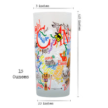 Load image into Gallery viewer, Canada Drinking Glass - catstudio