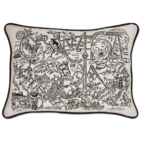 Canada Hand-Guided Machine Pillow - catstudio