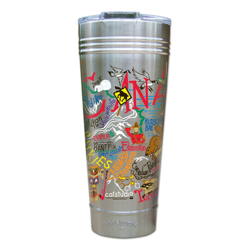 Canada Thermal Tumbler (Set of 4) - PREORDER Thermal Tumbler catstudio
