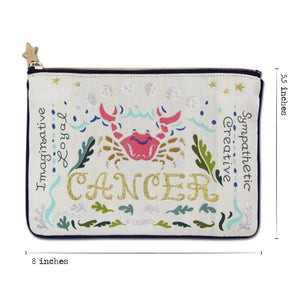 Cancer Astrology Zip Pouch Pouch catstudio