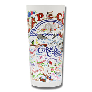 Cape Cod Drinking Glass - catstudio