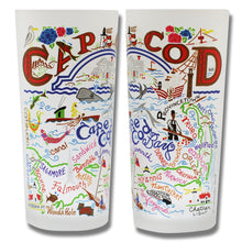 Load image into Gallery viewer, Cape Cod Drinking Glass - catstudio