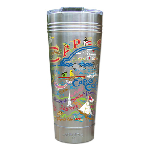Cape Cod Thermal Tumbler (Set of 4) - PREORDER Thermal Tumbler catstudio