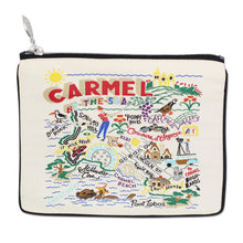 Load image into Gallery viewer, Carmel Zip Pouch - Natural - catstudio