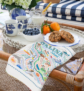 Catalina Dish Towel - catstudio