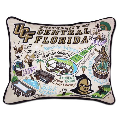 Central Florida, University of Collegiate Embroidered Pillow - catstudio