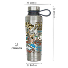 Load image into Gallery viewer, Central Florida, University of Collegiate Thermal Bottle - catstudio