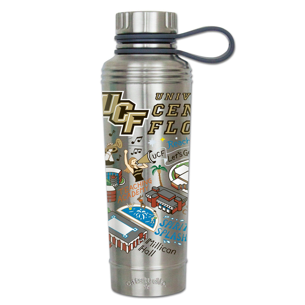 Central Florida, University of Collegiate Thermal Bottle - catstudio