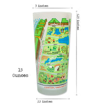 Load image into Gallery viewer, Central Park Drinking Glass - catstudio