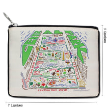 Load image into Gallery viewer, Central Park Zip Pouch Pouch catstudio