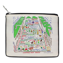 Load image into Gallery viewer, Central Park Zip Pouch Pouch catstudio Natural