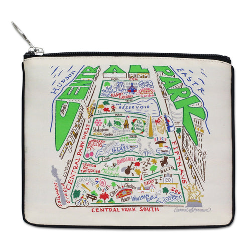 Central Park Zip Pouch Pouch catstudio Natural