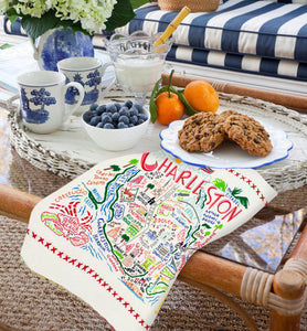 Charleston Dish Towel - catstudio