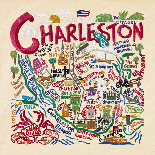 Charleston Fine Art Print - catstudio