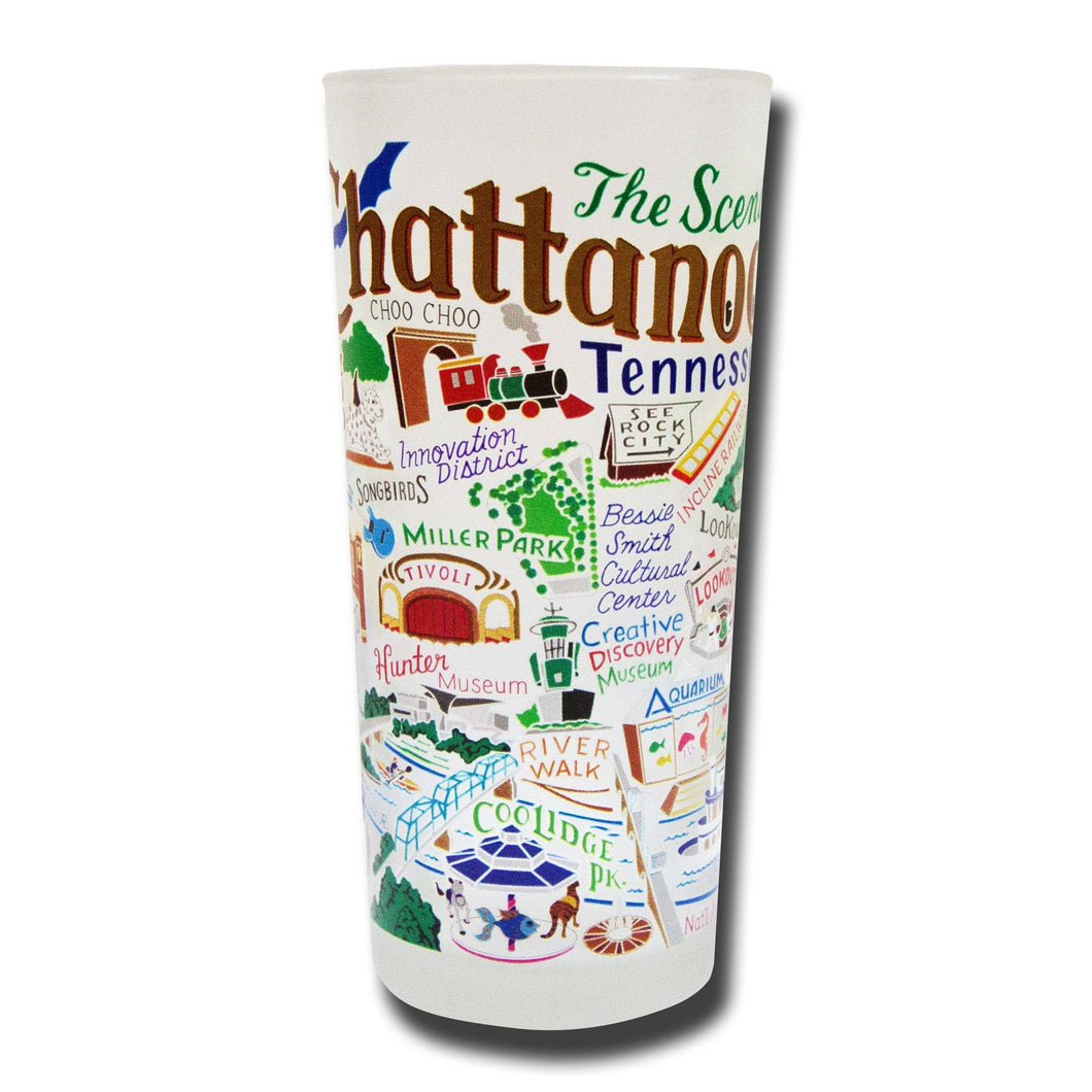 Chattanooga Drinking Glass - catstudio