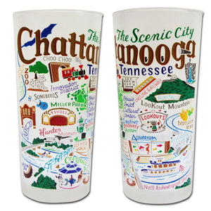 Chattanooga Drinking Glass - Coming Soon! - catstudio