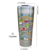 Load image into Gallery viewer, Chattanooga Thermal Tumbler (Set of 4) - PREORDER Thermal Tumbler catstudio
