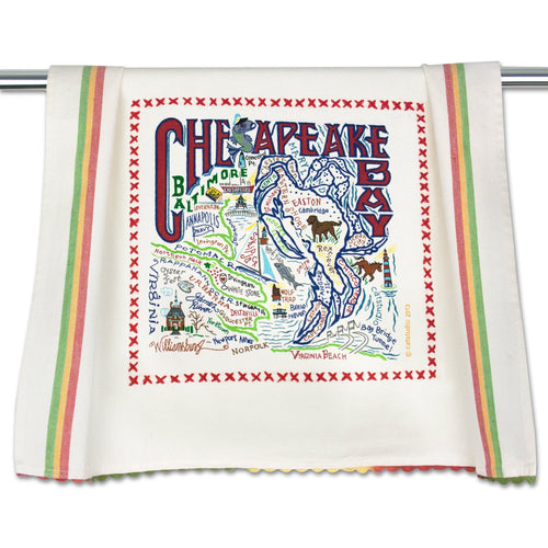 Chesapeake Bay Dish Towel - catstudio