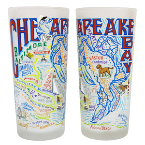Chesapeake Bay Drinking Glass - catstudio