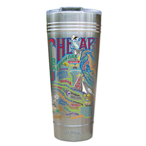 Chesapeake Bay Thermal Tumbler (Set of 4) - PREORDER Thermal Tumbler catstudio