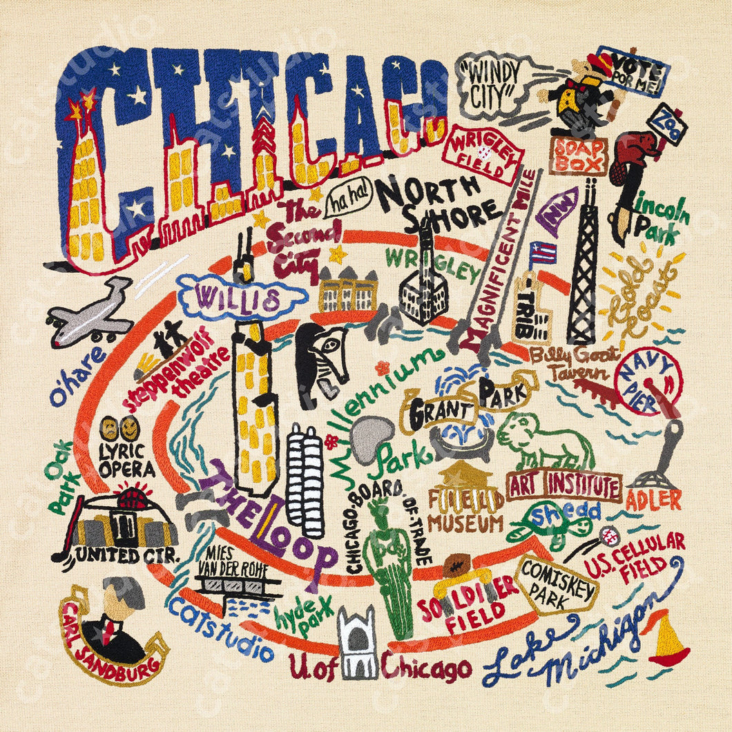 Chicago Fine Art Print - catstudio