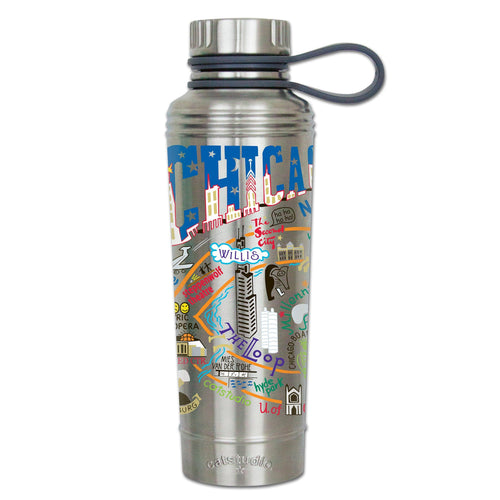 Chicago Thermal Bottle - catstudio