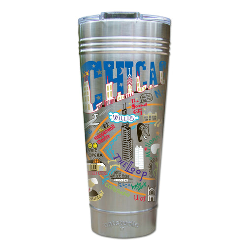 Chicago Thermal Tumbler (Set of 4) - PREORDER Thermal Tumbler catstudio