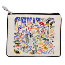 Load image into Gallery viewer, Chicago Zip Pouch - Natural - catstudio