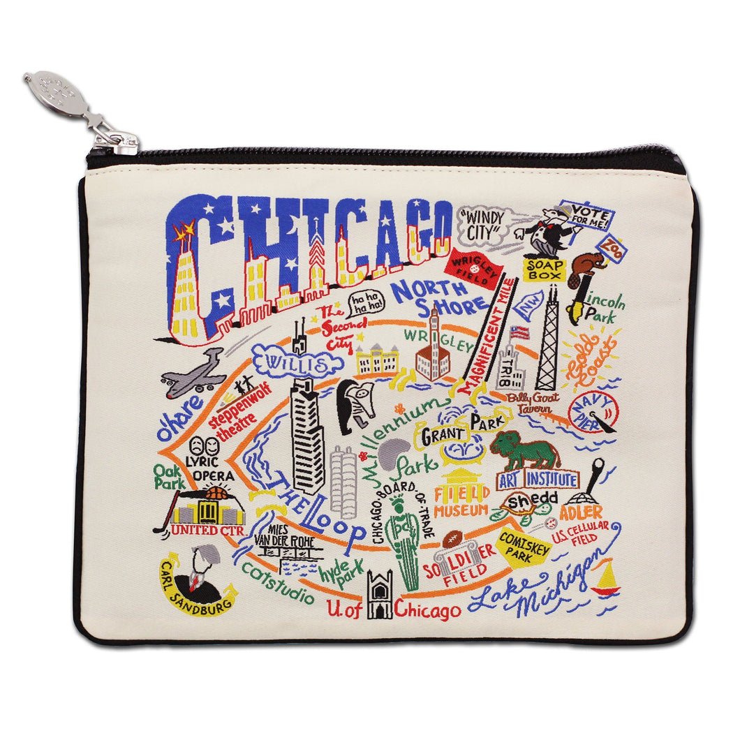 Chicago Zip Pouch - Natural - catstudio