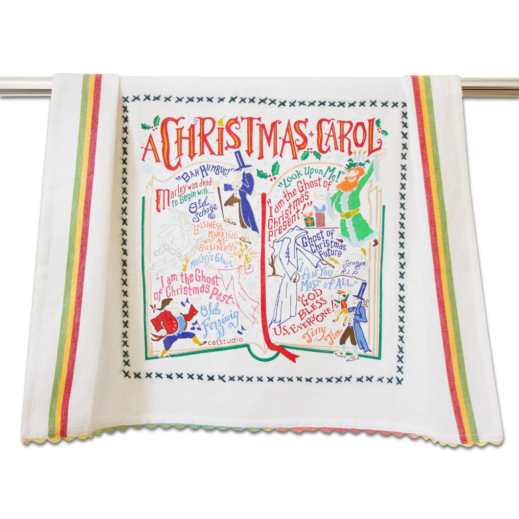 Christmas Carol Dish Towel - COMING SOON Dish Towel catstudio