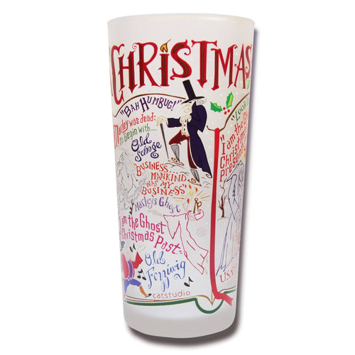 Christmas Carol Drinking Glass - Coming Soon! Glass catstudio
