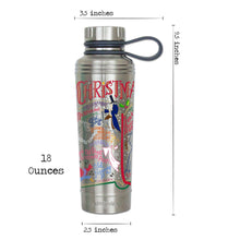 Load image into Gallery viewer, Christmas Carol Thermal Bottle - Coming Soon! Thermal Bottle catstudio